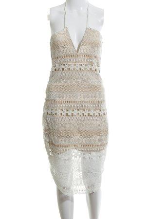 Magali Pascal Spitzenkleid nude-weiß Elegant