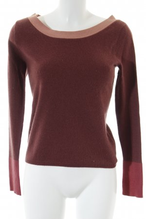 Magaschoni Cashmerepullover Colourblocking Casual-Look