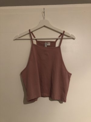 H&M Cropped shirt roségoud
