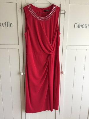 Magenta/hellrot/pinkes Kleid von Vera Mont