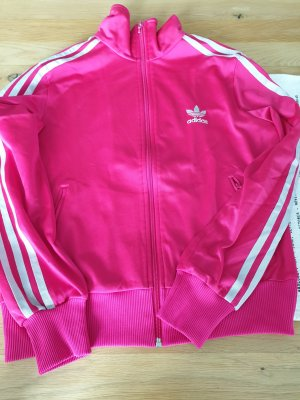 magentafarbene Adidas-Originals Trainingsjacke