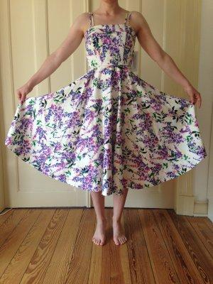 Maggy London Midi Dress multicolored