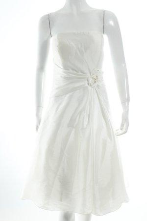 Magic Bride Brautkleid wollweiß Eleganz-Look