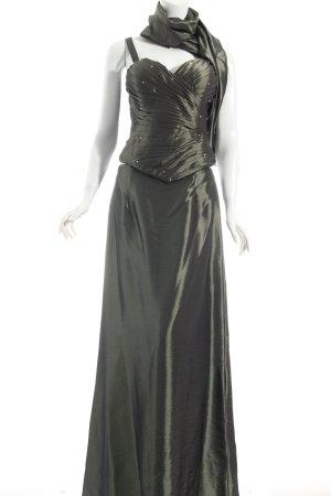 Magic Nights Abendkleid khaki Eleganz-Look