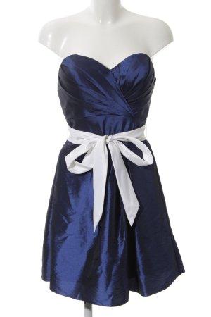 Magic Nights Cocktailkleid blau-weiß Elegant