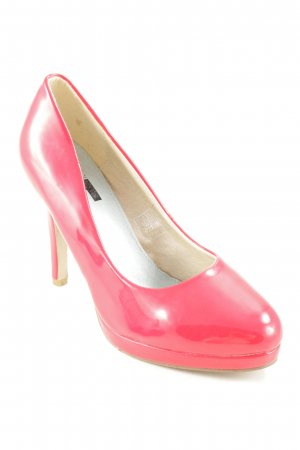 Magic Plateau-Pumps rot Elegant