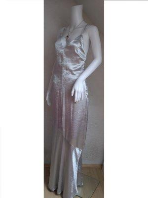 Magic Silber Abendkleid Sommerkleid