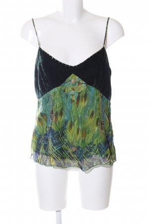 Magic Woman Camisoles green-primrose themed print street-fashion look