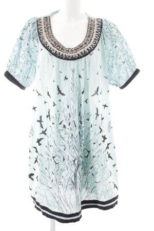 Magic Woman Tunikakleid florales Muster schlichter Stil