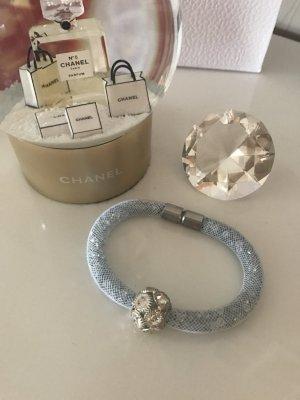 Magnetarmband Strass Glitzer Swarovski Silbersteine