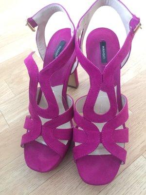 Mago Heels in Violett