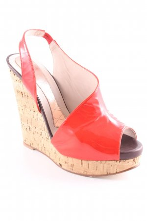 MAGRIT Wedges Sandaletten rot Casual-Look