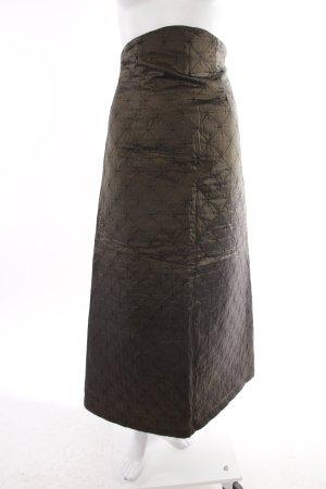 Mai-Melissa Vintage Maxirock dunkelgrün