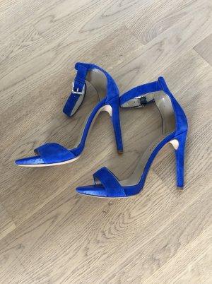 Mai Piu Senza Gr. 36 Sandaletten Wildleder Blau