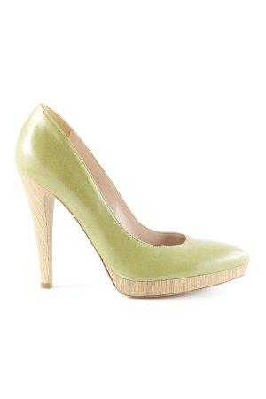 Mai piu senza High Heels grün Business-Look