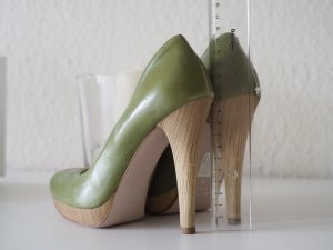 Mai Piu Senza | High Heels Pumps Stiletto | grün 36 NEU