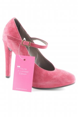 Mai piu senza Mary Jane Pumps dark red elegant