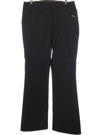 Maier Sports Pantalon de ski noir style simple