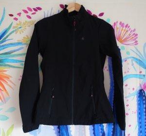 Maier Sports Softshelljack zwart Polyester