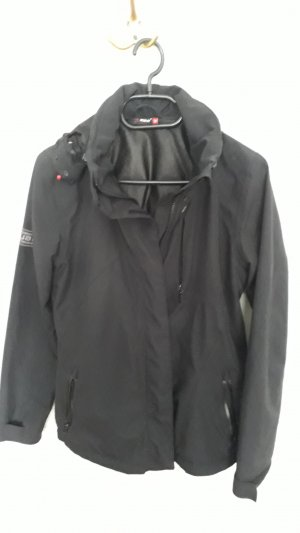 Maier Sports Outdoor Jacket black synthetic fibre