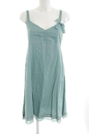 Mais il est où le soleil Babydoll-jurk cadet blauw simpele stijl