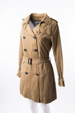 MAISON AND SCOTCH - Trenchcoat mit Futter Beige-Braun