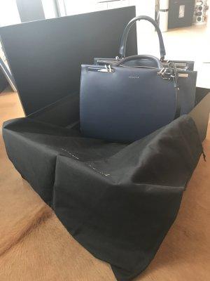 Maison Heroine Claire Businesstasche in Blau, für einen 13 Zoll Laptop geeignet