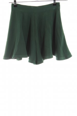 Maison Kitsuné Falda con flecos verde look casual