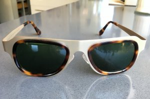"""* MAISON MARGIELA  """" NEU ! Sonnenbrille Metall silber Kunststoff braun Retro"""