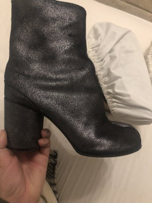 Maison Martin Margiela Booties black-silver-colored
