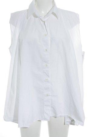 Maison Martin Margiela ärmellose Bluse weiß Elegant