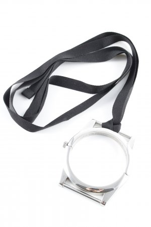 Maison Martin Margiela for H&M Armlet silver-colored-black extravagant style