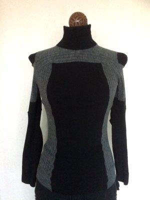 Maison Martin Margiela for H&M cotton wool black grey sock Sweater Medium