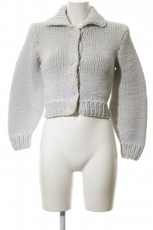 Maison Martin Margiela for H&M Knitted Bolero light grey casual look