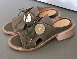 Maison Martin Margiela Clog Sandals multicolored leather