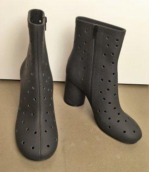 Maison Martin Margiela Low boot noir-gris anthracite cuir