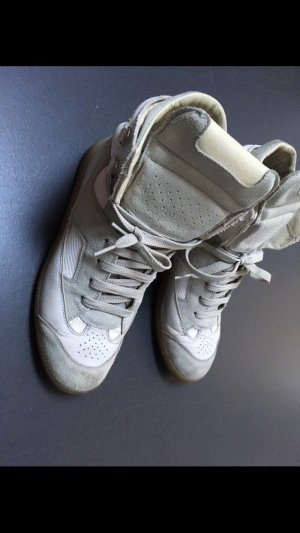 Maison Martin Margiela Sneakers hightop 39 weiss Leder Design
