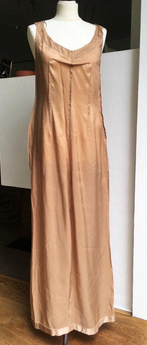 Maison Martin Margiela for H&M Robe longue rose chair-beige tissu mixte