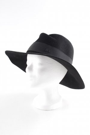 Maison Michel Panama Hat black Paris-Look