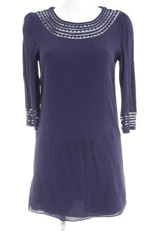 Maison Scotch A-Linien Kleid dunkelblau Casual-Look