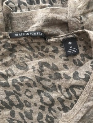 Maison Scotch Empiècement de blouses brun-marron clair
