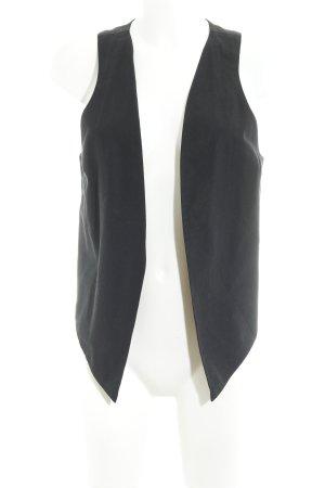 Maison Scotch Chaleco de vestir negro-marrón grisáceo elegante