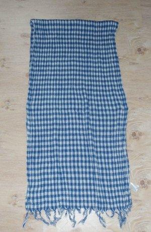 Maison Scotch Baumwoll-Leinen Crinkle Schal