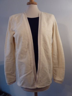 Maison Scotch Blazer Strickjacke wollweiß