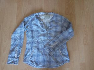 Maison Scotch Oversized Blouse light grey-light blue