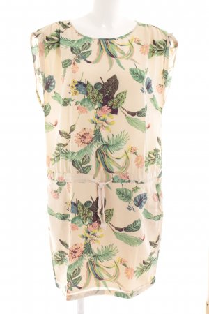 Maison Scotch Blusenkleid abstraktes Muster Casual-Look