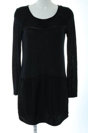 Maison Scotch Blusenkleid schwarz Casual-Look