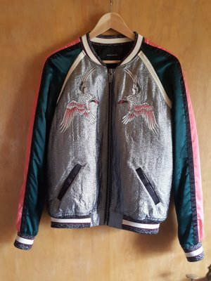 Maison Scotch Bomberjacke Glitzer Patches Must-Have