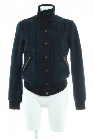 Maison Scotch Bomberjacke Karomuster College-Look