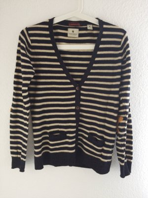 Maison Scotch Cardigan gestreift Wolle